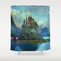 Journey's End Shower Curtain