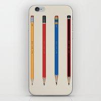 Art not War - Pencils iPhone & iPod Skin