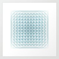 #436 Vortex – Geometry… Art Print
