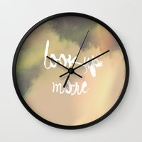 Look Up More Wall Clock