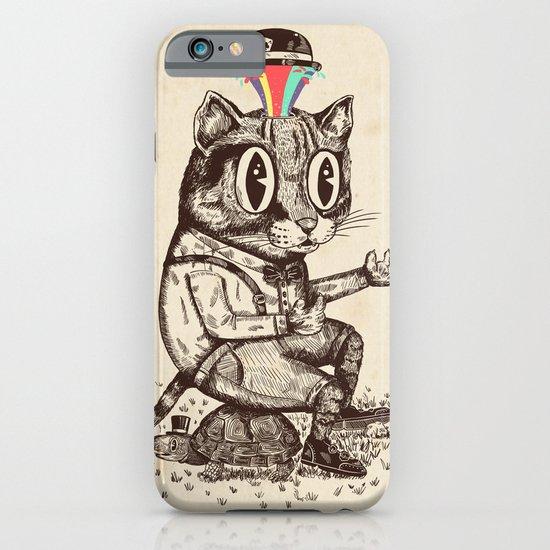 Strange Cat iPhone & iPod Case