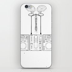 The Pioneer (CDJ Quick Connect Manual) iPhone & iPod Skin
