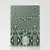 Jewelled Sage - Fractal Stationery Cards