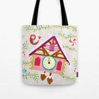 Cuckoo For Christmas Tote Bag