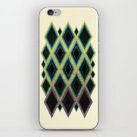 Diamond pattern iPhone & iPod Skin