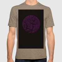 Tree Mens Fitted Tee Tri-Coffee SMALL