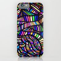 Rainbow Ribbons iPhone 6 Slim Case