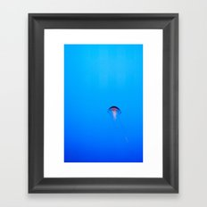 Floating. Framed Art Print