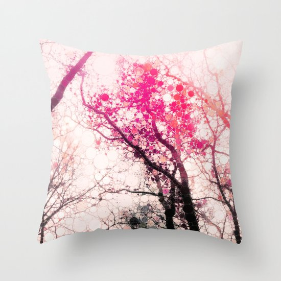 Tree Silhouette 2 Throw Pillow