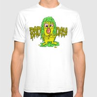 Bad Day Mens Fitted Tee White SMALL