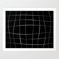 WO black Art Print