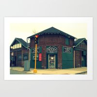 Summit Package Store In … Art Print