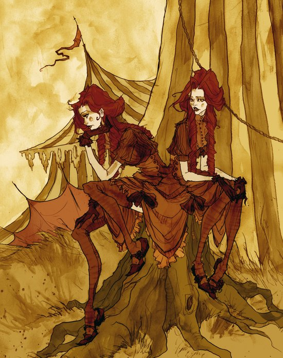 The Conjoined Twins Art Print