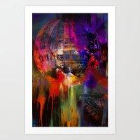 Atomium 58 Art Print