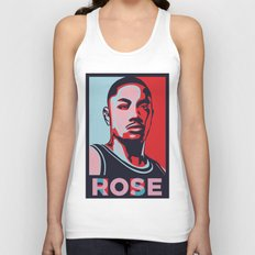 Rose is Hope Unisex Tank Top