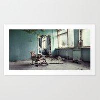 Chernobyl - лікарн… Art Print