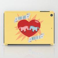 Unicorns Are Worth It iPad Case