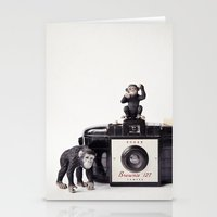 The Monkies and The Brownie Stationery Cards