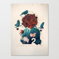 fructum caput Canvas Print