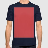 English vermillion Mens Fitted Tee Navy SMALL