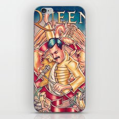 Don't Stop Queen Now iPhone & iPod Skin