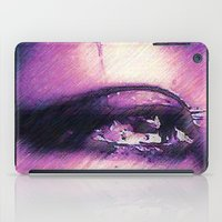 Tears - Pencil Drawing iPad Case