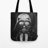 Darth Vader Gentleman Tote Bag