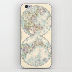 Hemispheres iPhone & iPod Skin