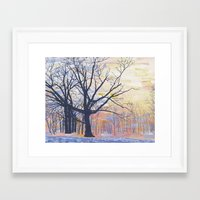 Kew Gardens, from the north-east Framed Art Print