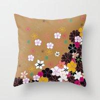 Blooms #2 Throw Pillow