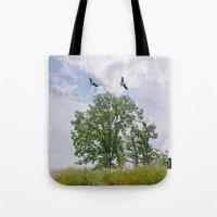 The buzzard tree Tote Bag