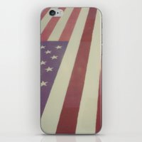 Flag iPhone & iPod Skin