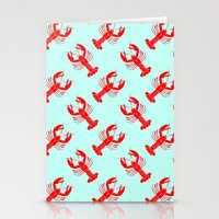 Rock Lobster Stationery Cards
