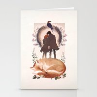 Fable Of Mulder And Scul… Stationery Cards