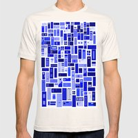 Doors - Blues Mens Fitted Tee Natural SMALL