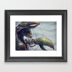 Zodiac Sign: Cancer Framed Art Print