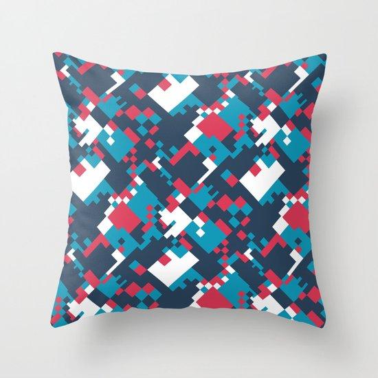 pixelated 2.0 Throw Pillow