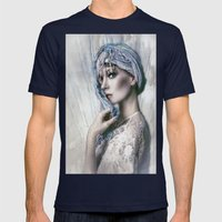 Opal Woman Mens Fitted Tee Navy SMALL