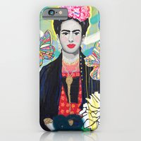 iPhone & iPod Case featuring Frida Kahló by Paola Gonzalez