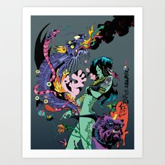 Magic Five Art Print