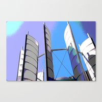 Metal Sails #2 Canvas Print