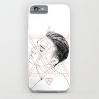 iPhone & iPod Case featuring Face Facts I by Tom Kitchen