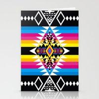 Big Diamond CMYK Stationery Cards