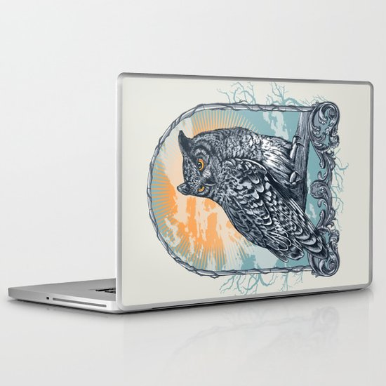 Twilight Owl Laptop & iPad Skin