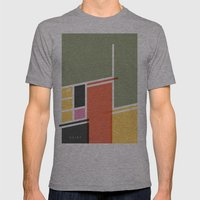SECRET CYCLING FLAG - VO… Mens Fitted Tee Athletic Grey SMALL