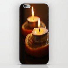 Orange Candles iPhone & iPod Skin