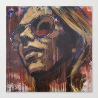 Libby In The Sun Canvas Print