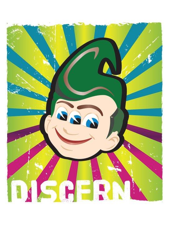 Discern Art Print