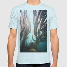 Deep Blue Reef Mens Fitted Tee Light Blue SMALL