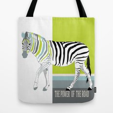The power of the road Tote Bag
